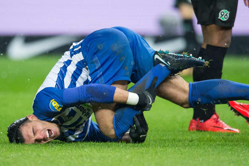 Hertha muss wegen einer Fußprellung weiter auf Karim Rekik verzichten.