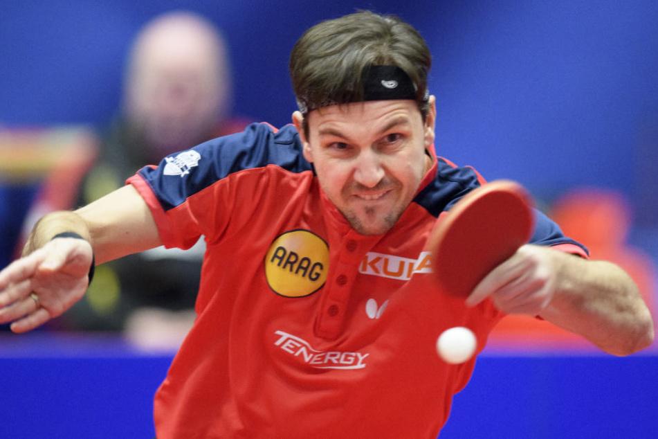 Außergewöhnlich: Timo Boll erklimmt erneut Platz eins der Tischtennis-Weltrangliste.