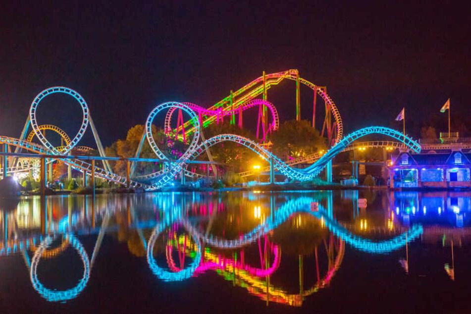 Im Oktober verwandelt sich der Freizeitpark in ein Paradies für Grusel-Fans!
