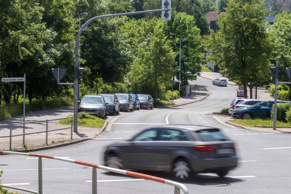 Die Markersdorfer Straße wird nächste Woche wegen Bauarbeiten streckenweise voll gesperrt.