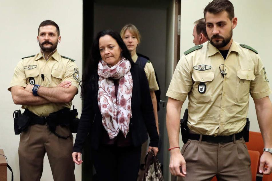 Für Beate Zschäpe fordert die Bundesanwaltschaft eine lebenslängliche Gefängnisstrafe.