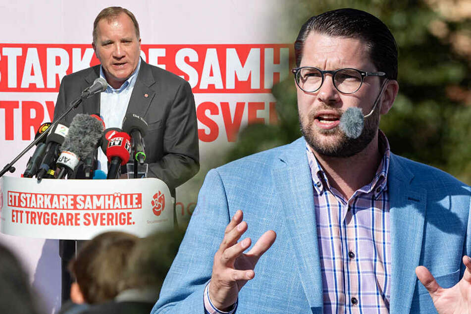 Vor Schweden-Wahl: Eklat in TV-Sendung