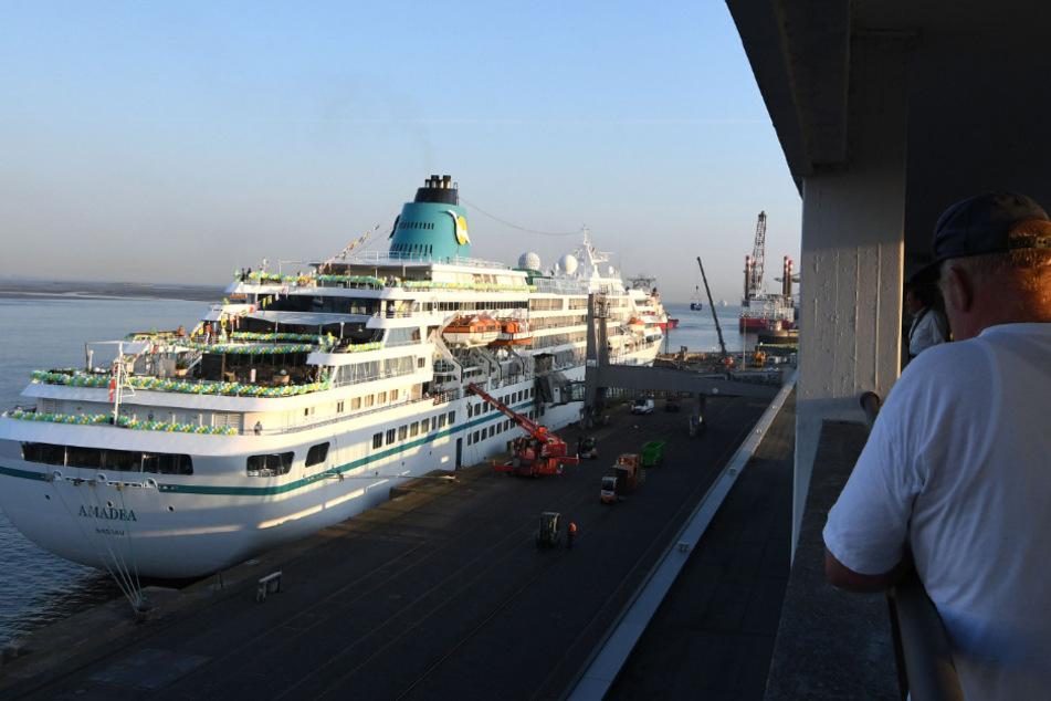 Coronavirus: ZDF-Traumschiff kehrt nach Bremerhaven zurück