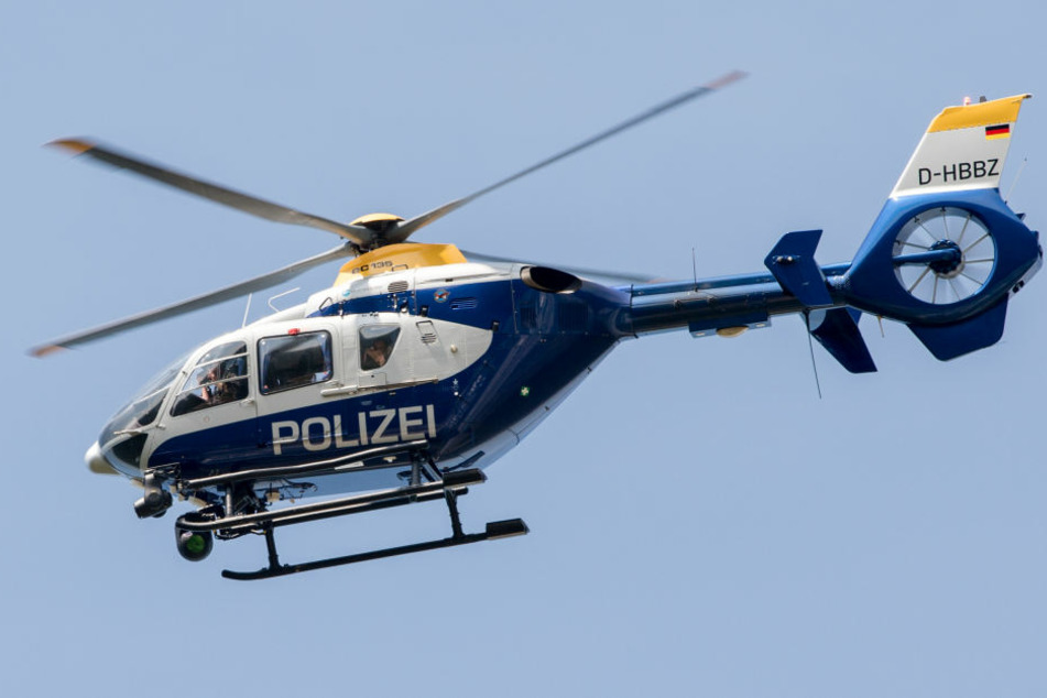 Plötzlich traf den Polizeibeamten ein Laserstrahl ins Auge (Symbolfoto).