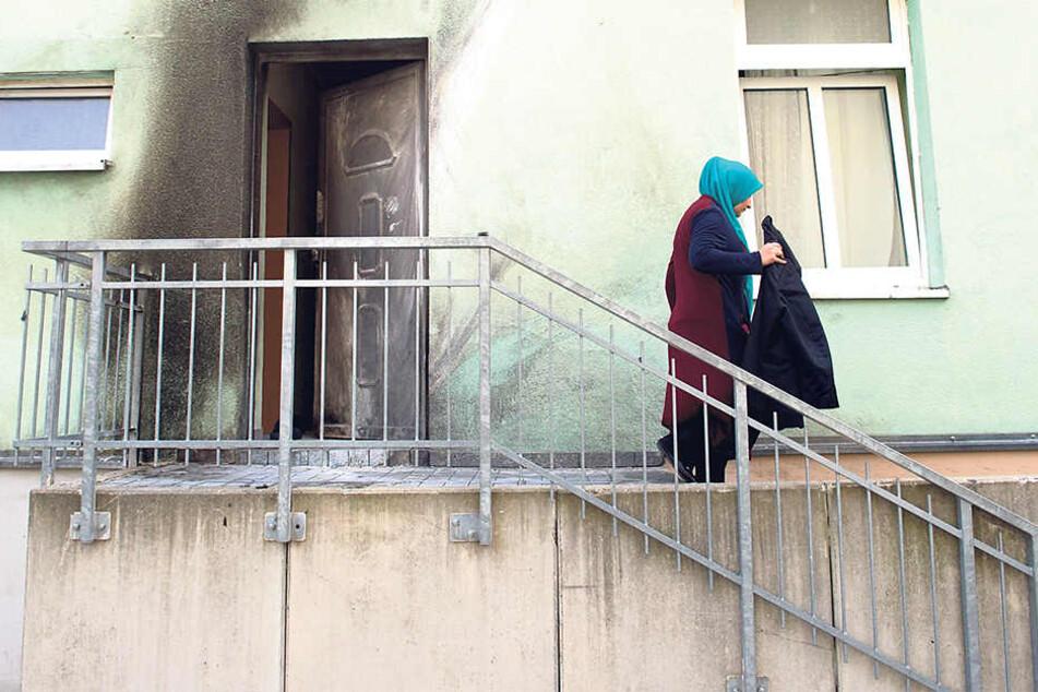 Nur mit Glück wurde beim Anschlag auf die Moschee niemand verletzt.