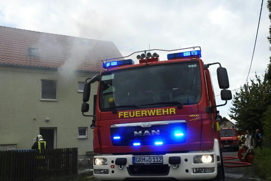 Das Haus wurde evakuiert, Verletzte gab es keine.