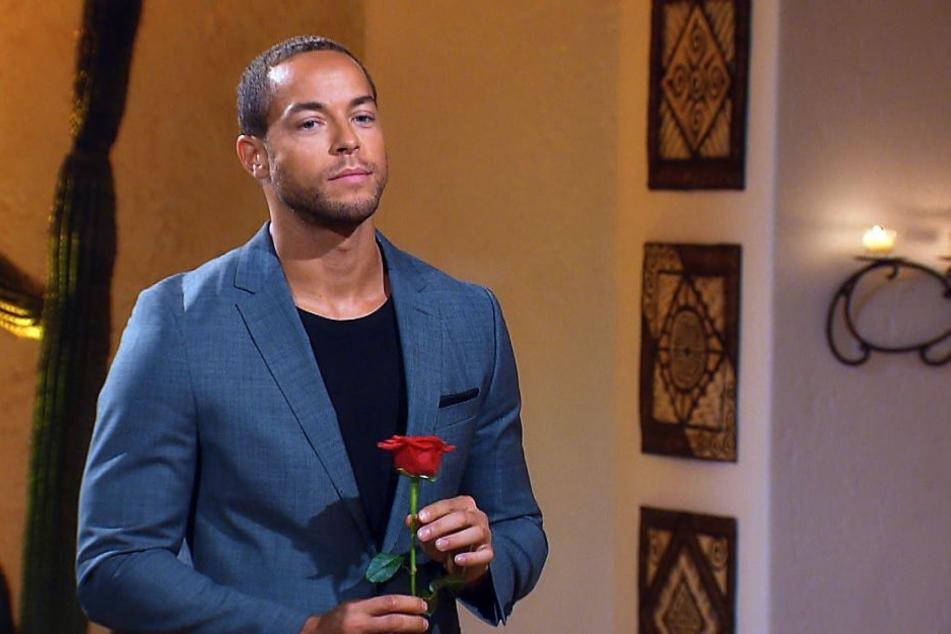 Bachelor Andrej blieb am Ende auf einer Rose sitzen...
