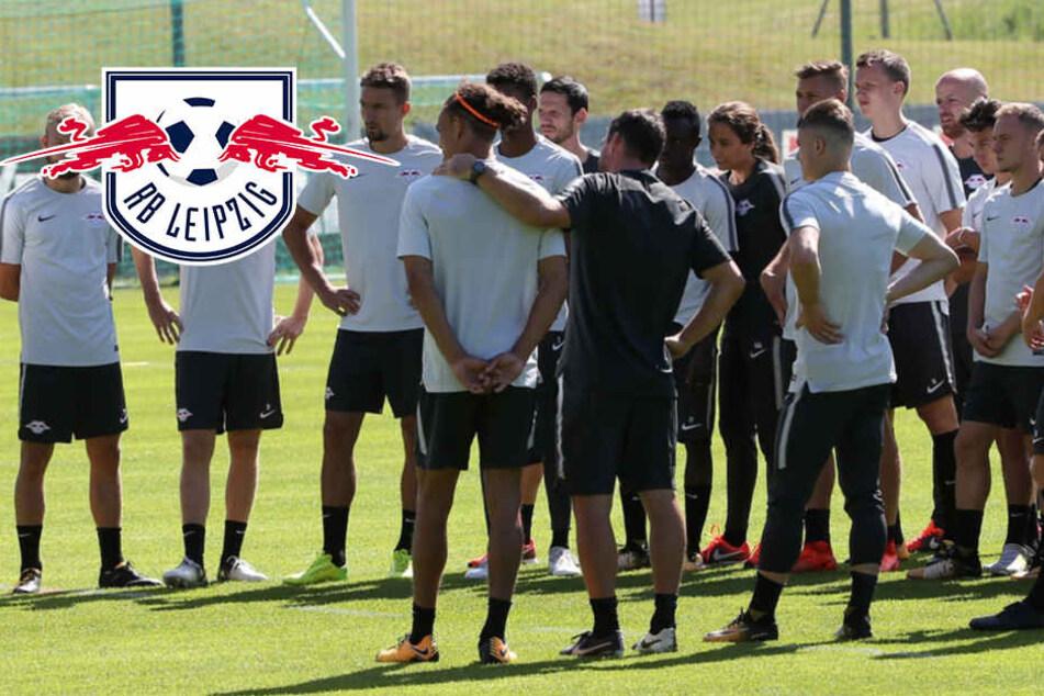 RB Leipzig im Trainingslager angekommen! Aber acht Spieler fehlen bei erster Einheit