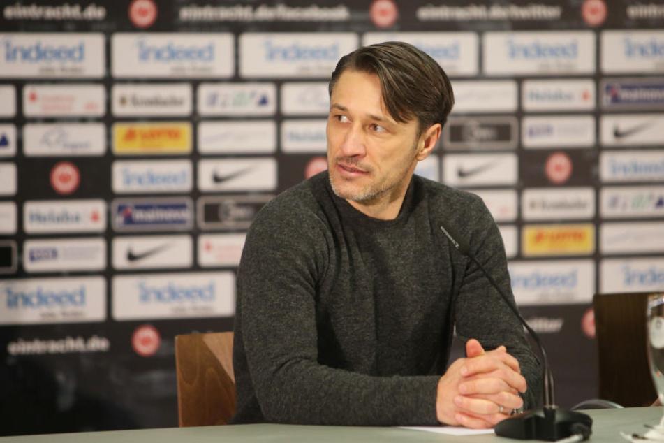 Niko Kovac will mit den Frankfurtern in die Erfolgsspur zurückkehren.