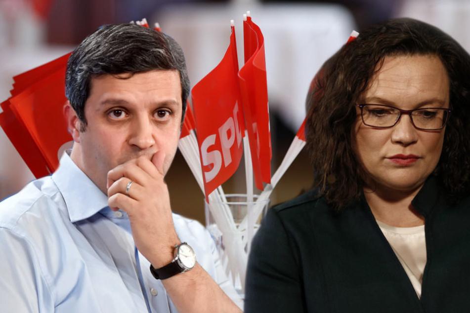 """Raed Saleh nannte den Wahlausgang ein """"Desaster für die deutschen Sozialdemokratie."""""""