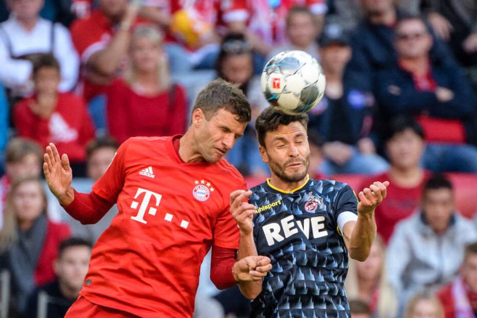 Im Hinspiel in München gab es für den 1. FC Köln eine klare 0:4-Niederlage.