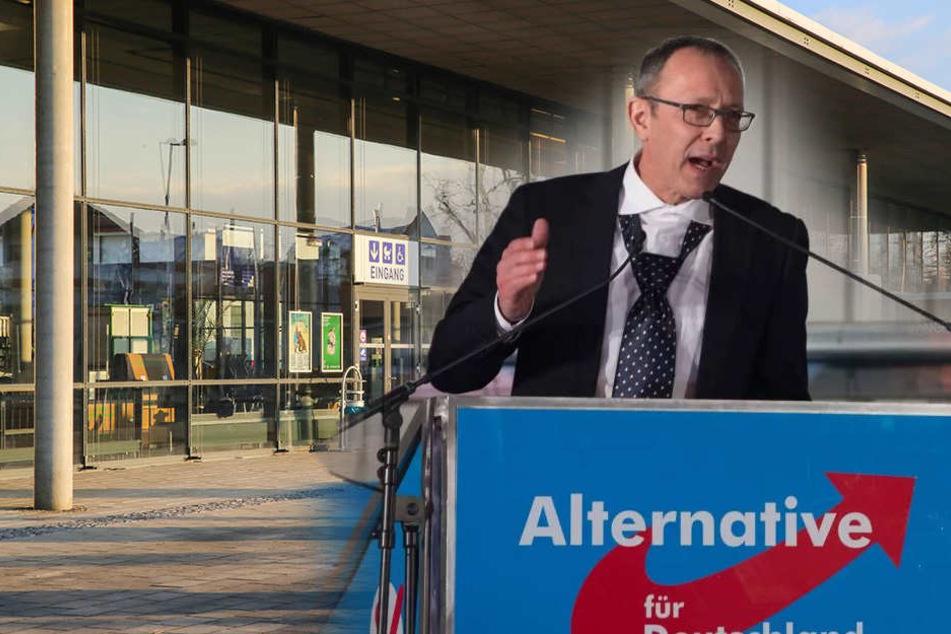 Messe gibt Angebot ab: AfD will in Dresden ihren großen Parteitag abhalten