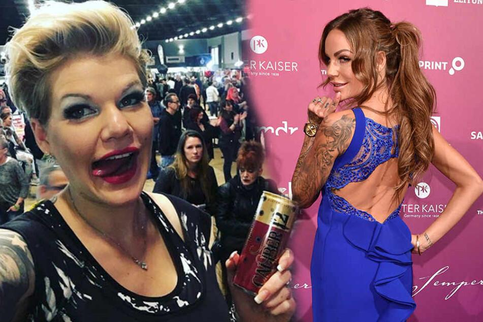 Melanie Müller (l.) wollte die Forderungen von Gina-Lisa (r.) nicht erfüllen. Ihre Teilnahme am Charity-Event platzte.