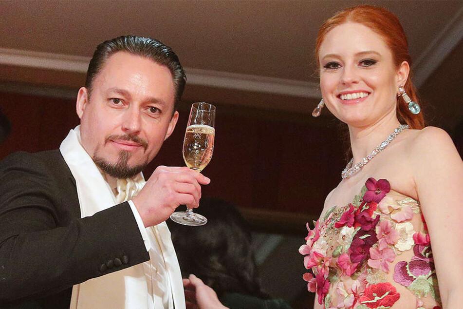 Seit vier Jahren ist Barbara Meier mit Klemens Hallmann zusammen. Bald sollen die Hochzeitsglocken läuten.
