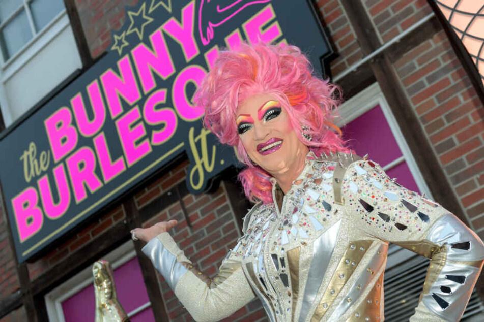 """The Bunny Burlesque"" ist der neue Nachtclub von Dragqueen Olivia Jones."