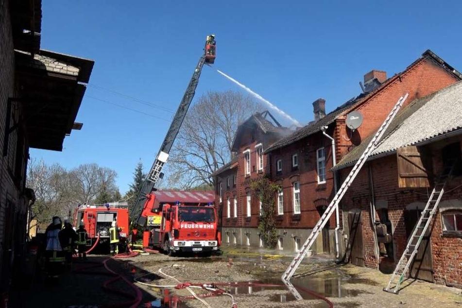 Nächster Großeinsatz der Feuerwehren im Landkreis Börde.
