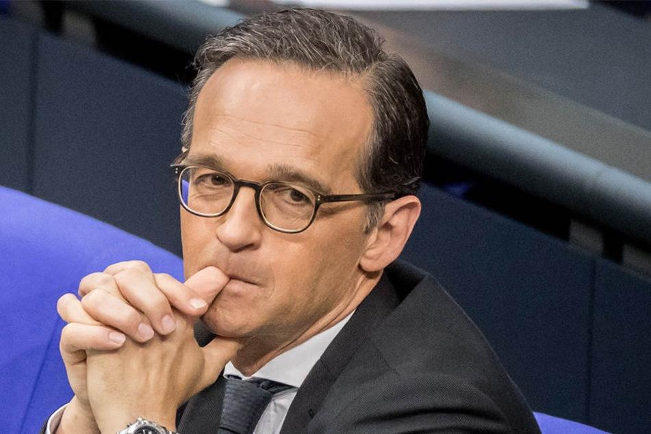 Justizminister Heiko Maas (50).