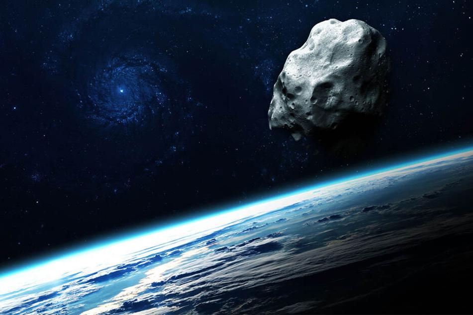 Im Februar kreuzen zwei Asteroiden die Bahn der Erde. (Symbolbild)