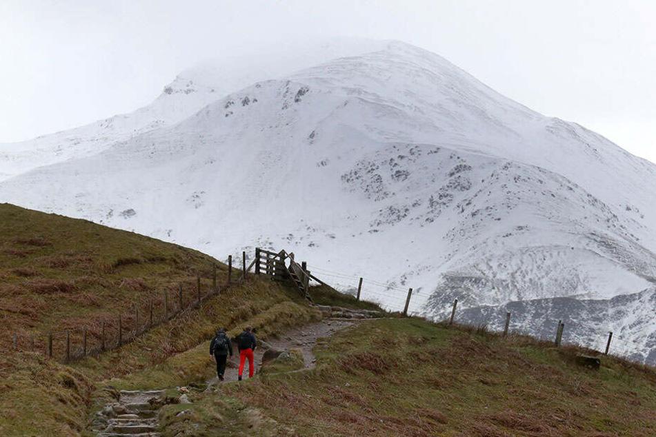 Ben Nevis ist der höchste Berg in Großbritannien.