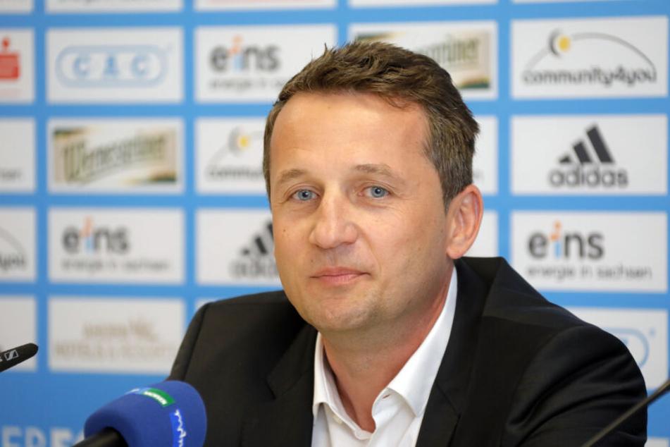 CFC-Sportdirektor Thomas Sobotzik.