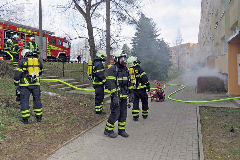 Bei einer der Brandstiftungen in der Albert-Schweizer-Straße war eine 85-Jährige ums Leben gekommen. (Archivbild)