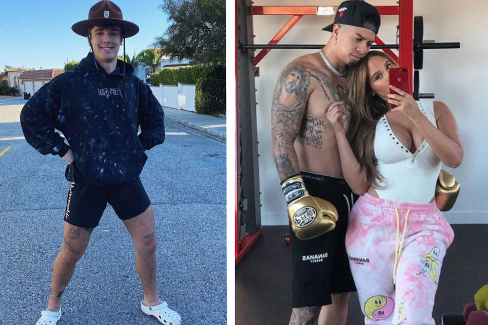 YouTubers vs. TikTokers: Austin McBroom and Bryce Hall hit the deck in pre-fight brawl
