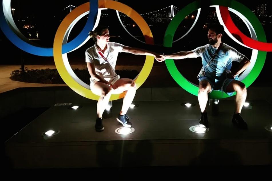 Olympics: Argentine fencer loses match but gains fiancé after live TV proposal