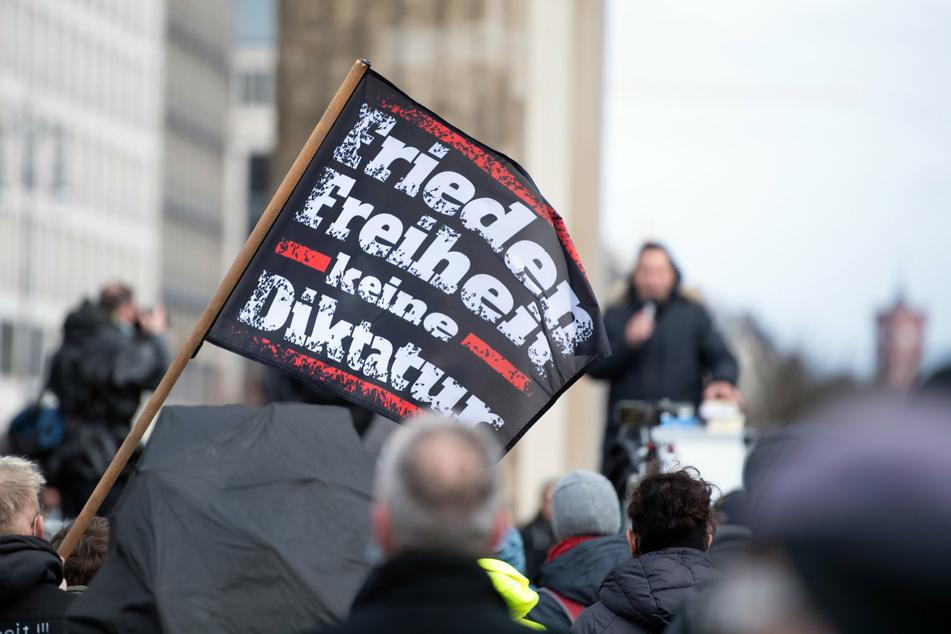 """Die """"Querdenker""""-Demo in Berlin darf nicht stattfinden. (Archivbild)"""