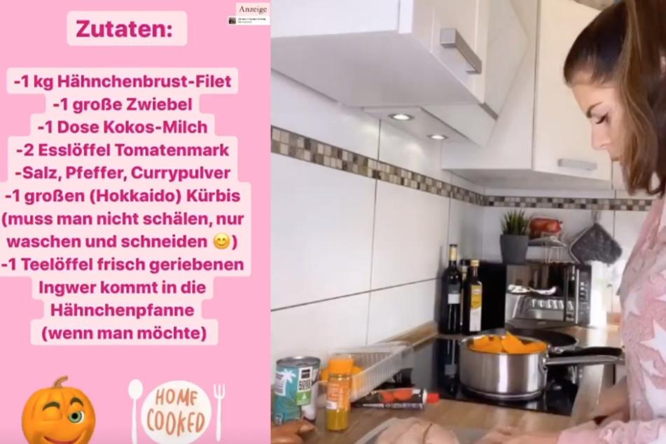 Daniela Katzenberger verrät ihr Kürbis-Rezept: Jenny Frankhauser kocht es nach
