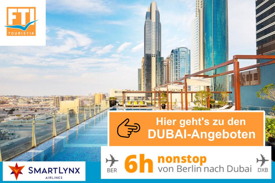 Einfach klicken und Angebote für Eure Dubai-Reise einholen!