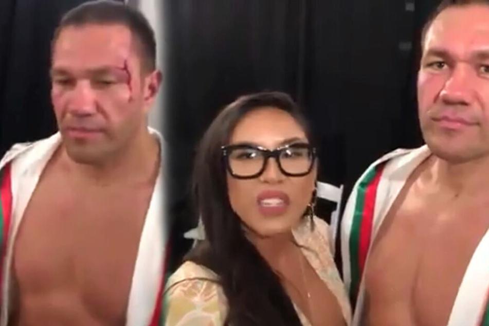 Reporterin interviewt Boxer und kann nicht fassen, was dieser am Ende mit ihr macht