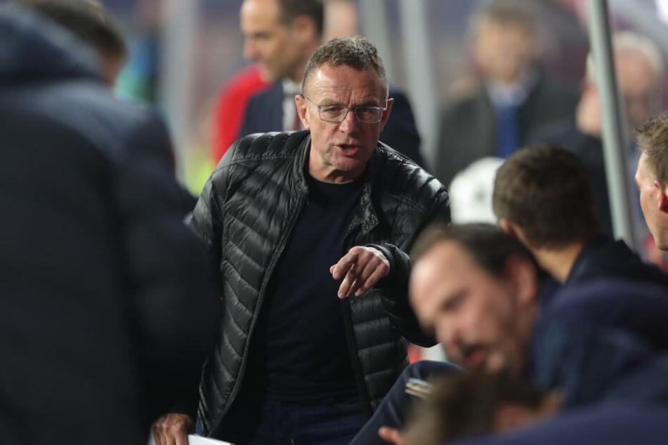 Manager Ralf Rangnick (61) erteilt den Münchnern eine Abfuhr.