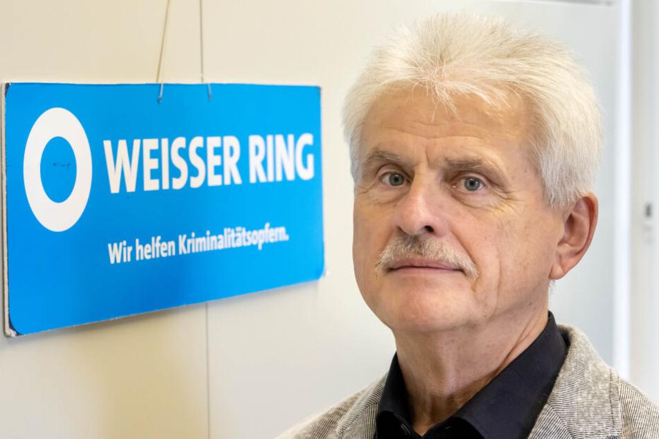 Friedrich Schulze (70), Leiter des Weißen Ring, kennt sich mit den Gefühlen von Verbrechensopfern und ihren Angehörigen aus.
