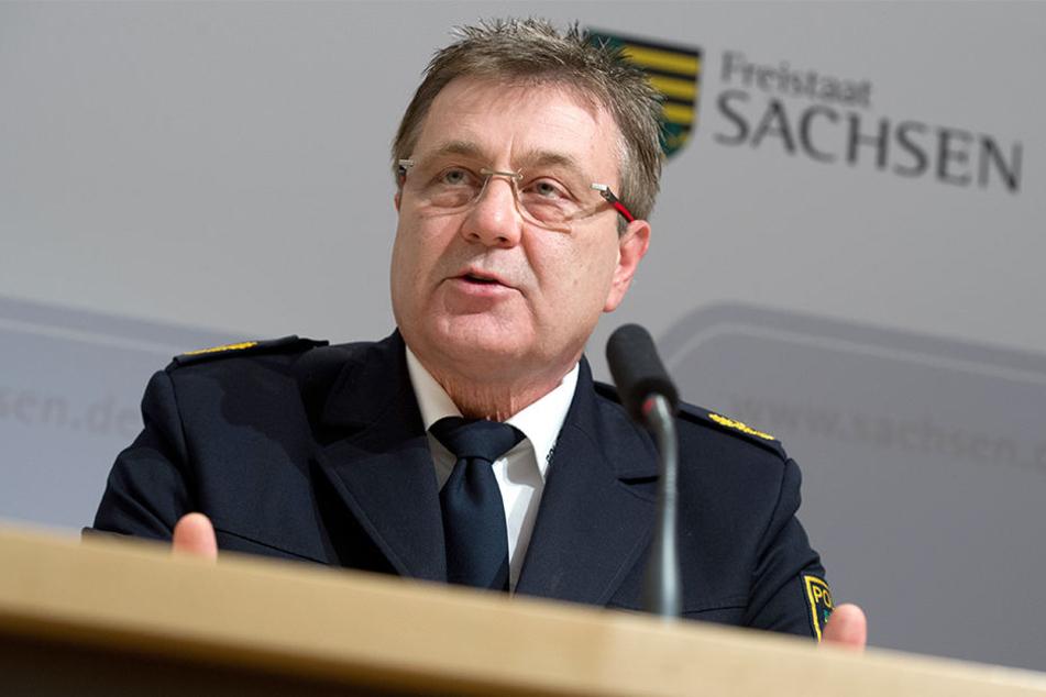 Polizeipräsident Bernd Merbitz ist sich sicher, dass die Anzahl der Straftaten in Leipzig auch 2018 wieder sehr hoch sein wird.