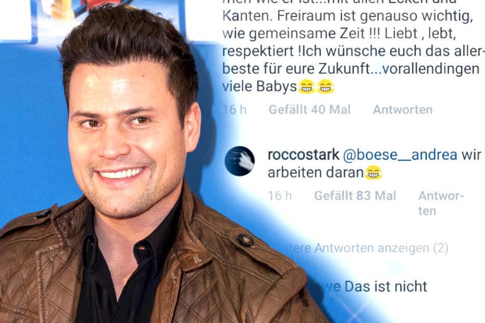 Nach ihrer Blitz-Hochzeit planen Rocco Stark (32) und seine Nathalie bereits den nächsten Schritt.