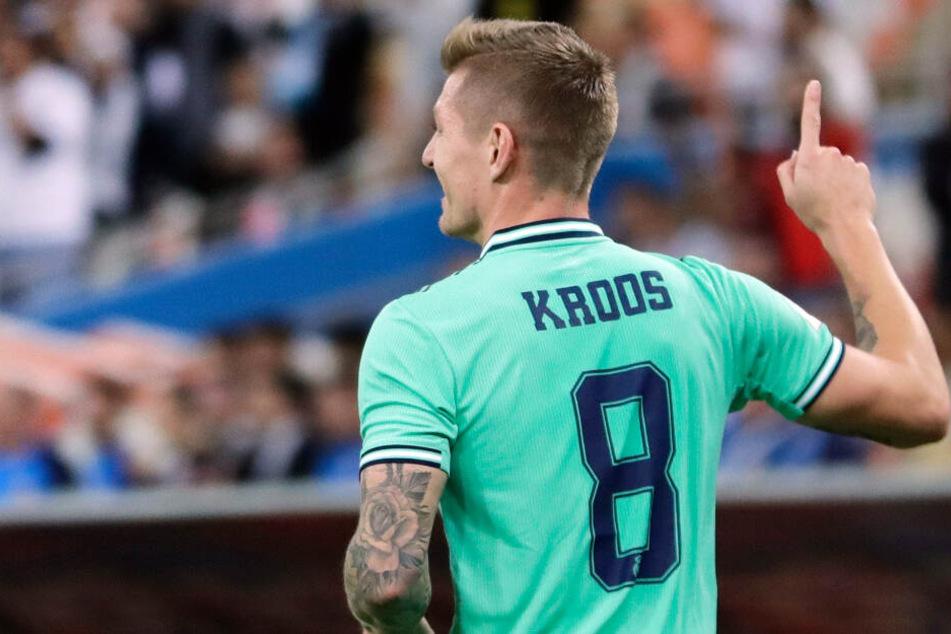 "Nationalspieler Toni Kroos gelingt ""spontan gewolltes"" Zaubertor"