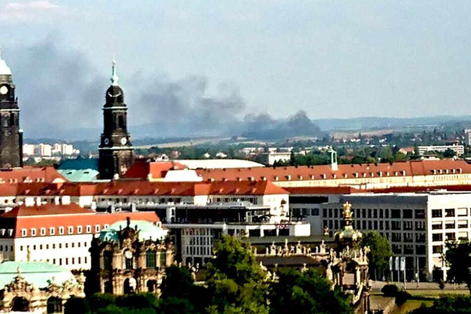 Ursache dafür soll ein Feuer in dem Umweltunternehmen Amand gewesen sein.