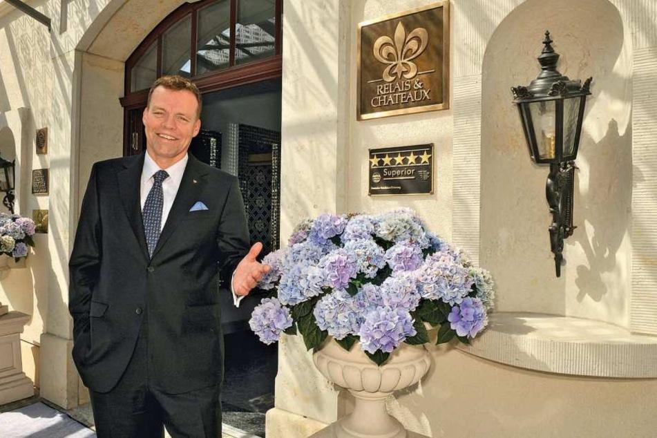 Hoteldirektor Ralf J. Kutzner hat allen Grund zur Freude.