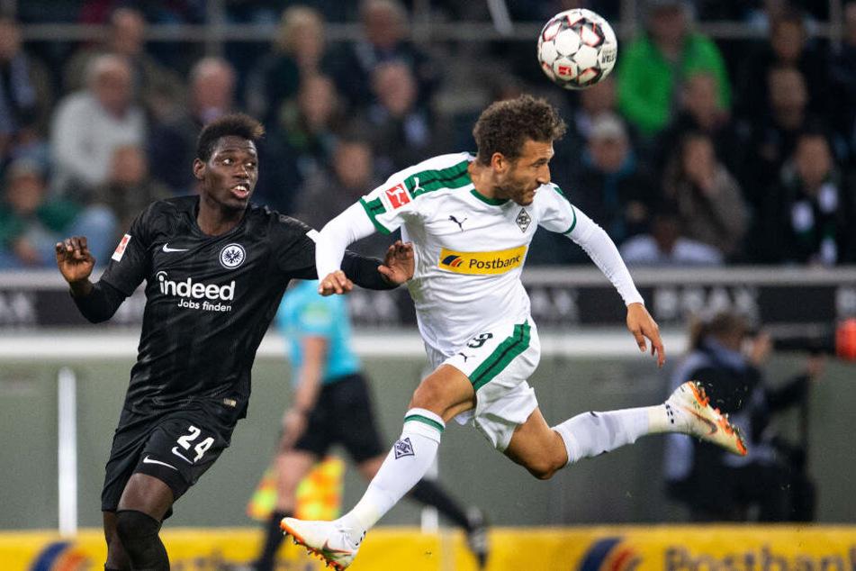 Fabian Johnson (rechts) kommt in dieser Saison bei Borussia Mönchengladbach nur noch selten zum Einsatz.