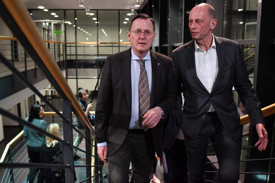 Parteien wollen in Thüringen bis Ende der Woche Weg aus der Krise finden