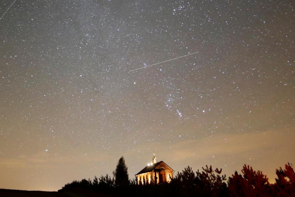 Sternschnuppen: Geminiden-Sternschnuppen erreichen heute Höhepunkt!