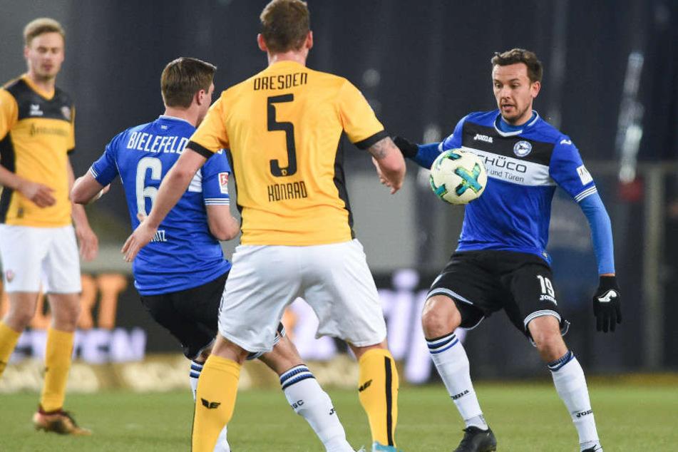 Mit Manuel Prietl (r.) und Tom Schütz ist der Trainer besonders zufrieden.