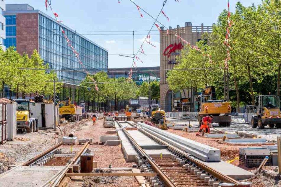 Die Mega-Baustelle in der Innenstadt stresst Einzelhändler und Kunden.