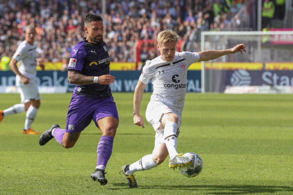 Mats Möller-Daehli spielt seine Gegenspieler schwindelig.