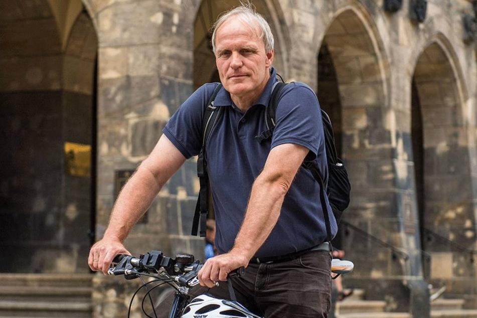 Grünen-Ratsherr Bernhard Herrmann (50).