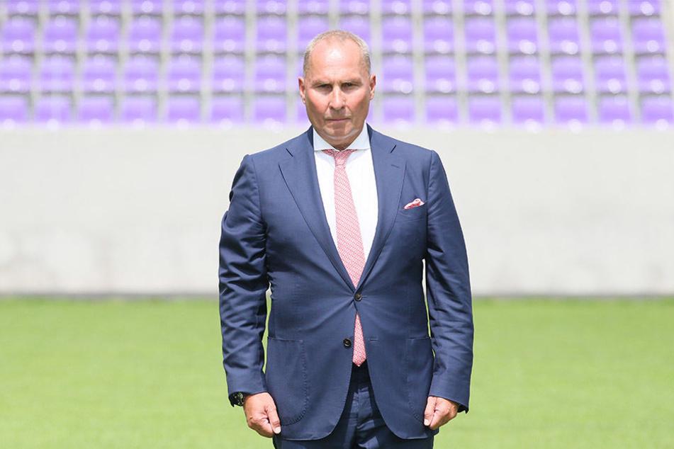 FCE-Präsident Helge Leonhardt.