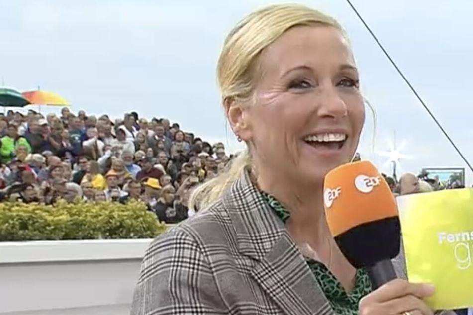 ZDF-Fernsehgarten: Andrea Kiewel irritiert Zuschauer mit merkwürdigem Statement