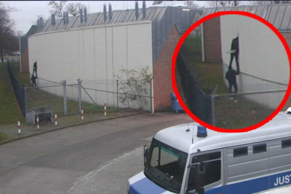 Vier Häftlinge konnten Ende 2017 unbemerkt aus der JVA Plötzensee fliehen.