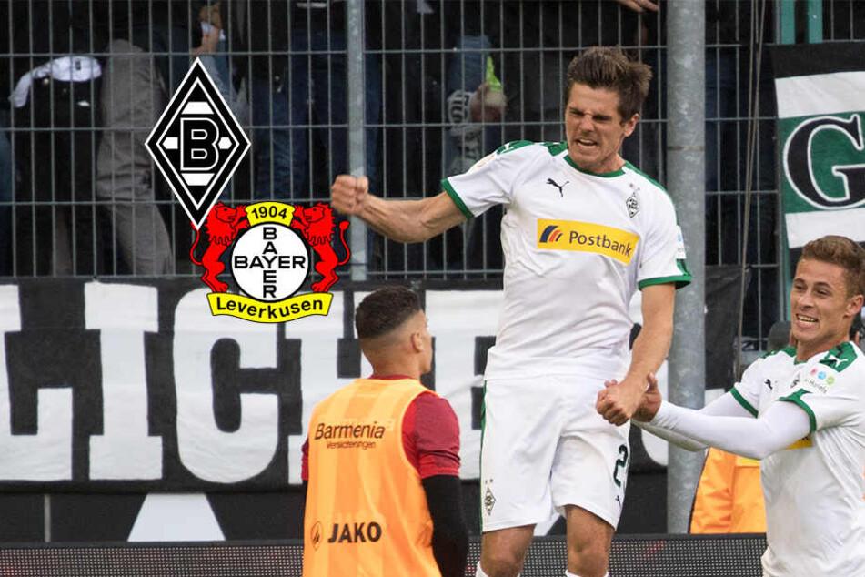 Zwei Elfmeter: Gladbach düpiert Leverkusen im Topspiel!