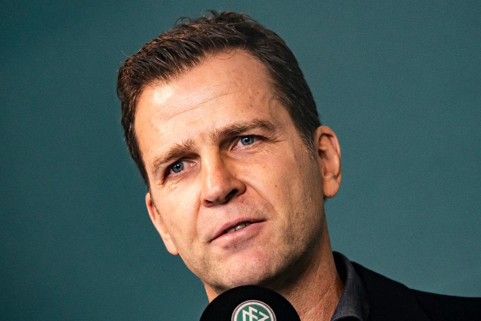 Oliver Bierhoff glaubt nach wie vor an die Erfolgschancen der deutschen Fußballnationalmannschaft bei der EM 2021.
